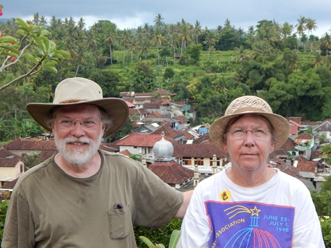 004 Rick and Mary at Puri Agung Karangasem