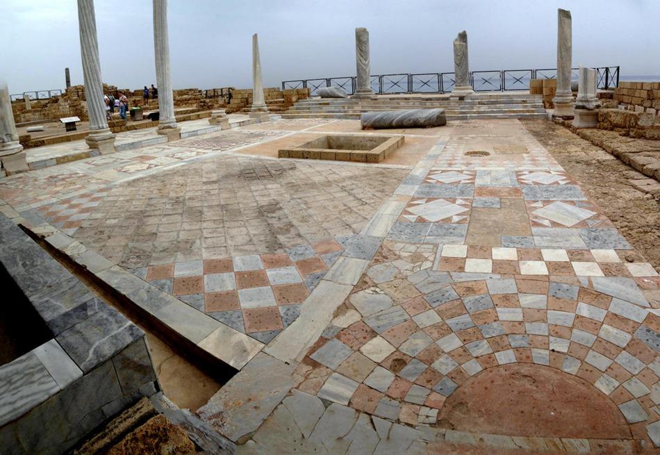 107a. Haifa, Israel (Caesarea & Acre)_stitch