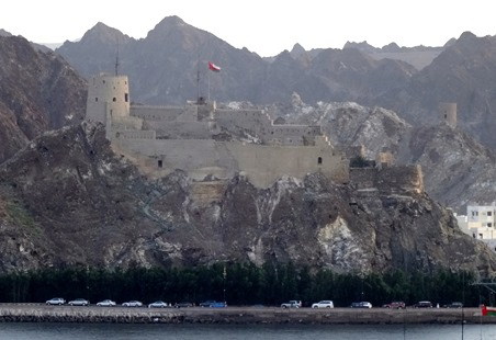 214. Muscat, Oman (sailaway)