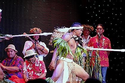 270. Tahiti Polynesian Show
