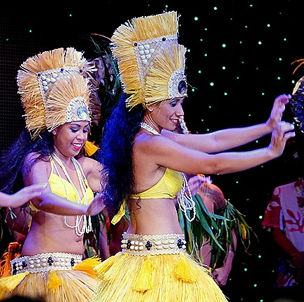 311. Tahiti Polynesian Show