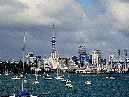 46. Aukland, New Zealand
