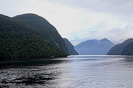 3. Fjordland National Park, New Zealand