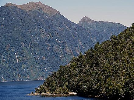 45. Fjordland National Park, New Zealand