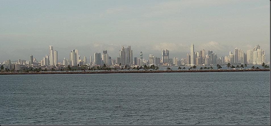 Panama City from Pacifi