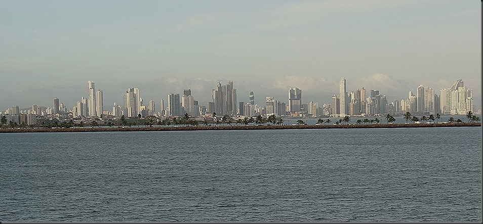 Panama City from Pacifi