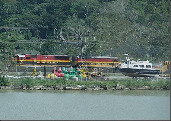 Panama railway, the first transcontinental railroad