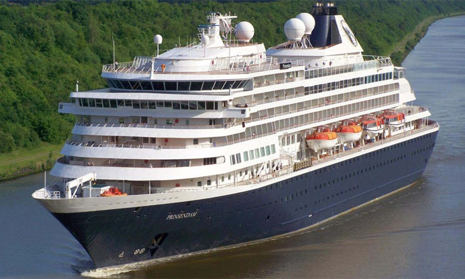 Holland America ocean cruise ship