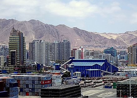 50. Antofagasta, Chile