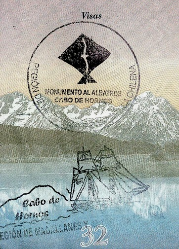 cape horn stamp