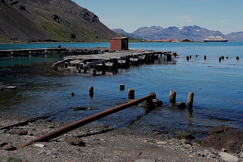 210. Grytviken, S Georgia Island