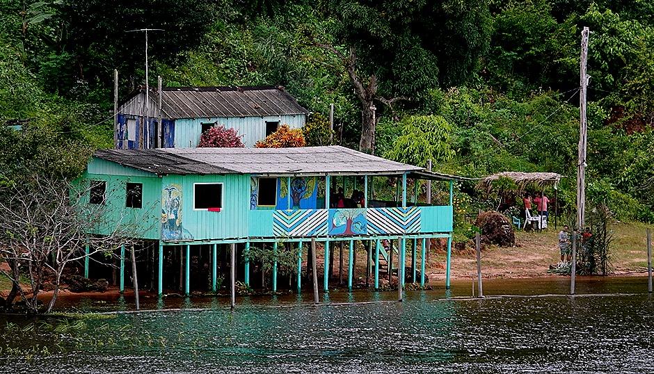 60. Boca de Valeria, Brazil