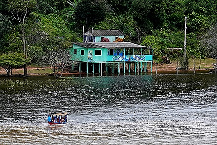 63. Boca de Valeria, Brazil