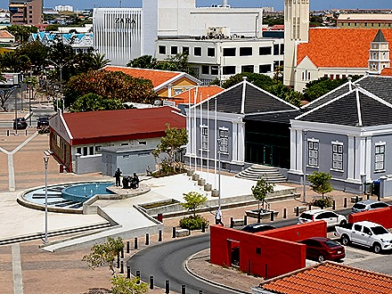 20. Orangestadt, Aruba