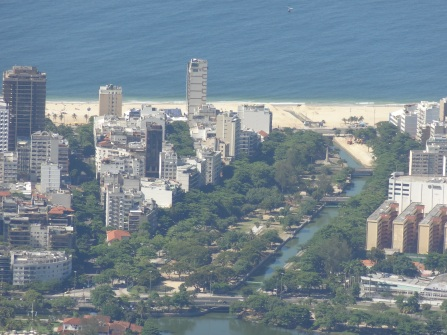 29 Ipanema (left) & Leblond beaches from Corcovado